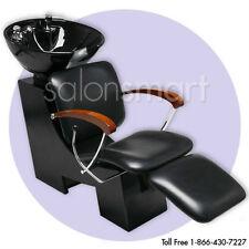Shampoo Unit Backwash Sidewash Bowl Chair Salon Equipment Furniture Wet Station