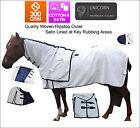 Unicorn Cotton Horse Rug w/ Detachable Neck Rug All Sizes 4'9 5'0 5'3 5'9 ~ 6'9