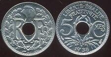 5 centimes  LINDAUER 1938  SPL