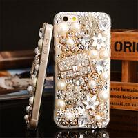 Glitter Luxury Bling Diamond Crystal Soft Back TPU Case Cover Skin For Samsung 4