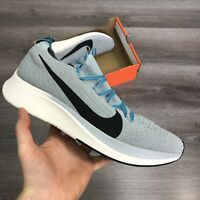 NIKE ZOOM FLY FLYKNIT BABY BLUE RUNNING TRAINERS SHOES SIZE UK10 US11 EUR45