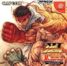 USED CAPCOM Street Fighter III W Impact   SEGA DREAMCAST  JAPAN JP JAPANESE