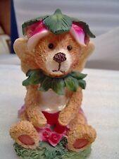 Brown Teddy Bear Fairy in pink