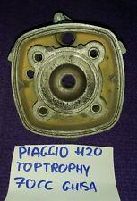 Testa testata cilindro cylinder head top 70cc lc piaggio nrg ntt zip