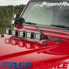 Halter für Led-Lightbars auf der Motorhaube Jeep Wrangler TJ 96-06