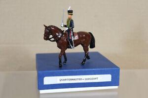 DUCAL BRITAINS ROYAL HORSE ARTILLERY MOUNTED QUARTERMASTER SERGEANT 36oa