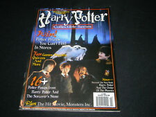 2002 Harry Potter Collectable Series Magazine Book Poster The Sorcerer's STone