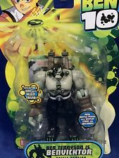 "New - BENVICKTOR - Ben 10 - 4"" Action Figure - BATTLE POSE VERSION - 2008 NEW"