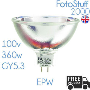 EPW 100v 360w GY5.3 Fujilamp BRAND NEW Projector Bulb Lamp Fuji EPW UK Stock