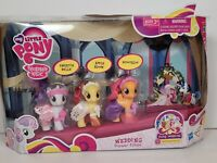 My Little Pony 2011 WEDDING FLOWER FILLIES Sweetie Belle Apple Bloom Scootaloo