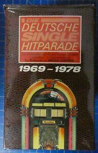 Deutsche Single Hitparade 10 Musikcassetten Box OVP NOS mint 1969-1978 T786