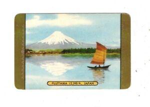 Swap Card Coles Named Series Original 1950's - Fujiyama 12,395 ft., Japan