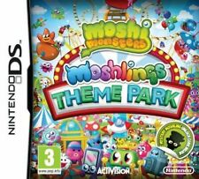 moshi monsters moshling theme park ds