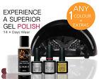 QUTIQUE Professional Gel Nail Polish Colour STARTER Kit/Pack/Set -ANY 1 Colour