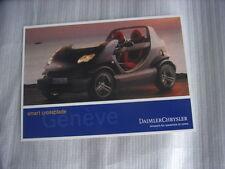 SMART CROSSBLADE cartolina/Post-card, International Geneva Motor Show 2002