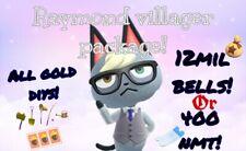 Raymond Judy Sherb Audie Ect Animal Crossing Villagers + FREE BONUSES!