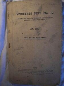 British Army Royal Signals Wireless Radio Military  Manual History