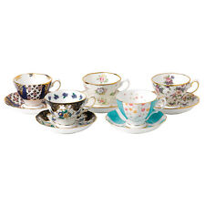 Royal Albert 100 Years Teaware 10 Piece Set Cup & Saucer 1900-1940 - LAST ONE!