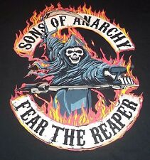 SMALL MEN'S T-SHIRT ** SONS OF ANARCHY ** SAM CRO ** SOA ** FEAR THE REAPER NEW
