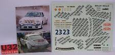 DMC CALCA PORSCHE 911 SC #23 BOSS RALLY MONTE CARLO 1983 1/24