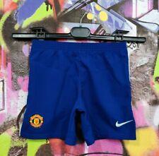 Manchester United Fc Football Soccer Training Shorts Nike Kids Boys 5-6 Years