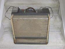Vintage 1960's Univox tube guitar amp-grey tweed,tremolo,12 inch Jensen,cool!