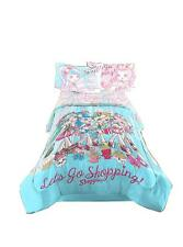 Shoppies Lets Go Shopping! Girls Comfortable Bedding Twin / Full Comforter
