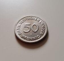 1950 G 50 Pfennig Bank Deutscher Länder Deutschland