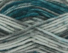 King Cole Big Value Super Chunky Tints Soft Acrylic Knitting Wool Yarn 100g Peacock 2046
