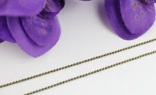 4 Meters Antiqued Bronze 1.2mm ball chain #22494