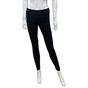 Helmut Lang Elastic Waist Legging Pants Black Women's Size M