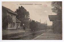 SAINTE MENEHOULD Marne CPA 51 GARE de GUISE vue intérieure train en gare