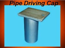 Stationary Pipe Boat Dock Hardware Driving Cap 593