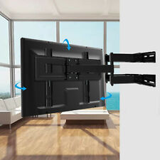Strong Flexible Double Arm Full Motion Cantilever TV Wall Bracket Mount 26-56""