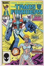 Transformers #9 VF- Marvel 1985 1st Circuitbreaker Optimus Prime Starscream