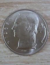 Belgique Belgie 5 francs Rau  1967 fr FDC