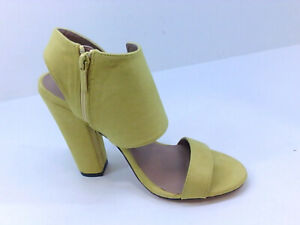 Michael Antonio Women's Shoes tscijg Heeled Sandals, Yellow, Size 7.5 meVj