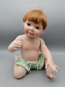 Porzellan Puppe Künstlerpuppe 28cm Ashton Drake 1995 Titus Tomescu. 6251FB