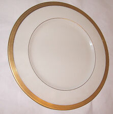 """Lenox Lowell 10 5/8"""" Dinner Plate Gold Backstamp Presidential Free Shipping USA"""