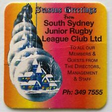 South Sydney Junior Rugby League Club Ltd 3497555 Coaster (B323-9)