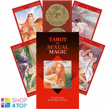 TAROT OF SEXUAL MAGIC DECK CARDS TUAN ESOTERIC FORTUNE LO SCARABEO NEW