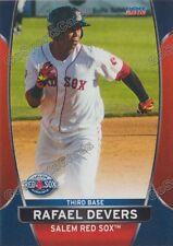 2016 Salem Red Sox Rafael Devers RC Rookie Boston Minor