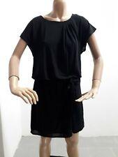 Vestito MAX & CO Donna Taglia Size S/M Dress Woman Veste Femme Nero Elastico8359