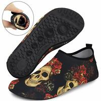 Bridawn Water Shoes Barefoot Skin Socks Quick-Dry Aqua Beach Swim Water Sports