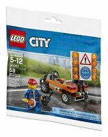 LEGO® CITY - 30357 Baustellen-Absicherung - POLYBAG  NEU / OVP