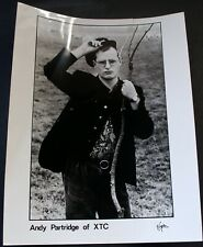 More details for andy partridge xtc photo original virgin records promo circa early 80s