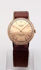 LONGINES FLAGSHIP 18K GOLD AUTOMATIC CAL. 380 WATCH 34MM
