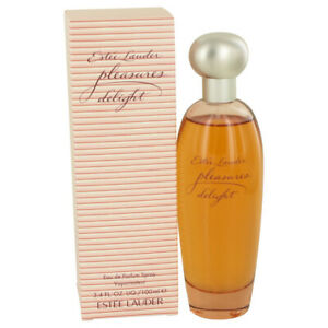 Pleasures Delight Women's by Estee Lauder 3.4oz/100ml EDP Spray No Cellophane