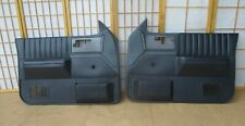 86-94 Chevy S10 Pickup Blazer S15 Jimmy Left Right CHARCOAL GRAY Door Panel SET