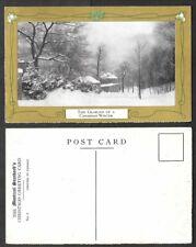 Old Canada Postcard - Montreal Gazette Christmas Greetings - Glories of Winter